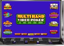 Multihand poker