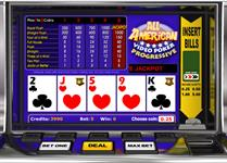 All american video poker progressive